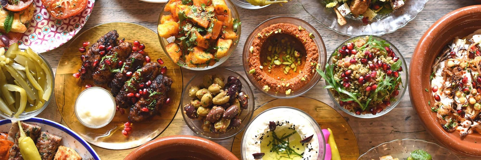Lebanese Mezza-Ready to Eat